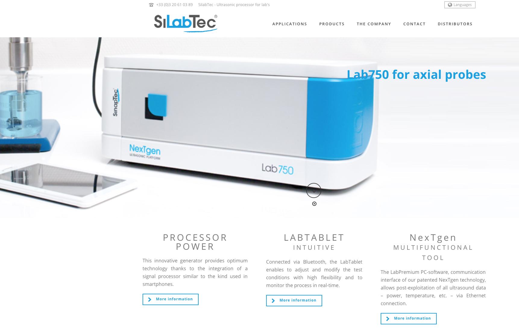 new site silabtec.com