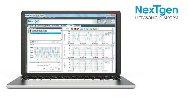 NextGen software by Sinaptec Ultrasonic