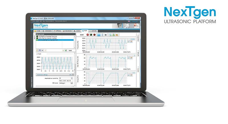 Logiciel NextGen par Sinaptec Ultrasonic